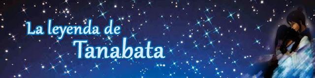 cielo lleno de estrellas y enamorados de la leyenda de Tanabata