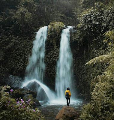 Air Terjun Grenjengan Kembar, pesona alami di lereng Merbabu