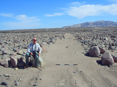 A la vera del Camino del Inca o Qhapaqñan. Quebrada de Quipisca, vista  hacia el Norte.