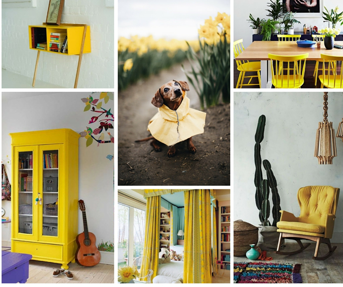 Ideas for Using the Color Yellow