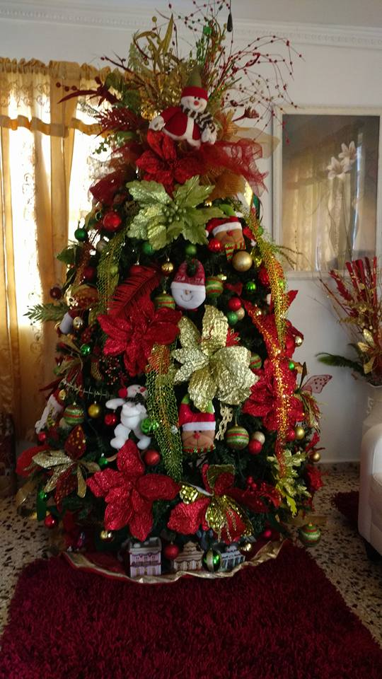 as these days are now taken by our christmas decoratinghere are some more beautiful christmas trees from my island of puerto rico that will inspire us to - Puerto Rican Christmas Decorations