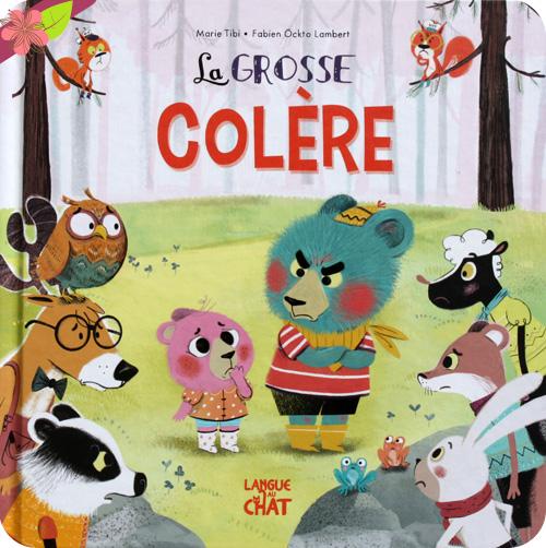 La Grosse Colère de Marie Tibi et Fabien Ockto Lambert - Langue au chat