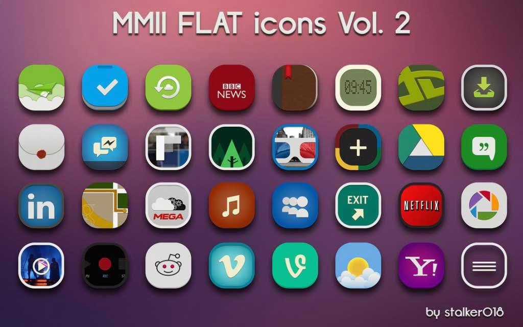 MMII FLAT icons Vol.2