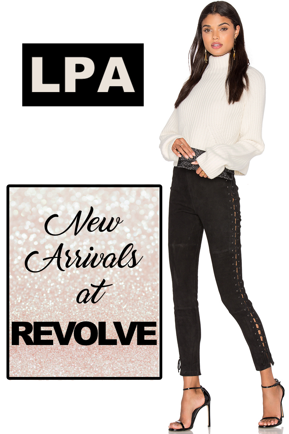 7c3cf0faba25 Revolve has some brand new arrivals from LPA! A collection of chunky knit  sweaters, silk tops, body suits, and faux fur jackets. According to  designer Lara ...