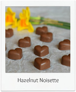 These handmade Hazelnut Noisette Chocolates with their rich milk chocolate hazelnut ganache encased in a tempered milk chocolate shell are the perfect edible gift.