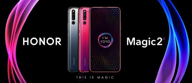 Honor Magic 2, Smartphone Slider Dengan 6 Kamera Dan Sensor Sidik Jari Di Bawah Layar