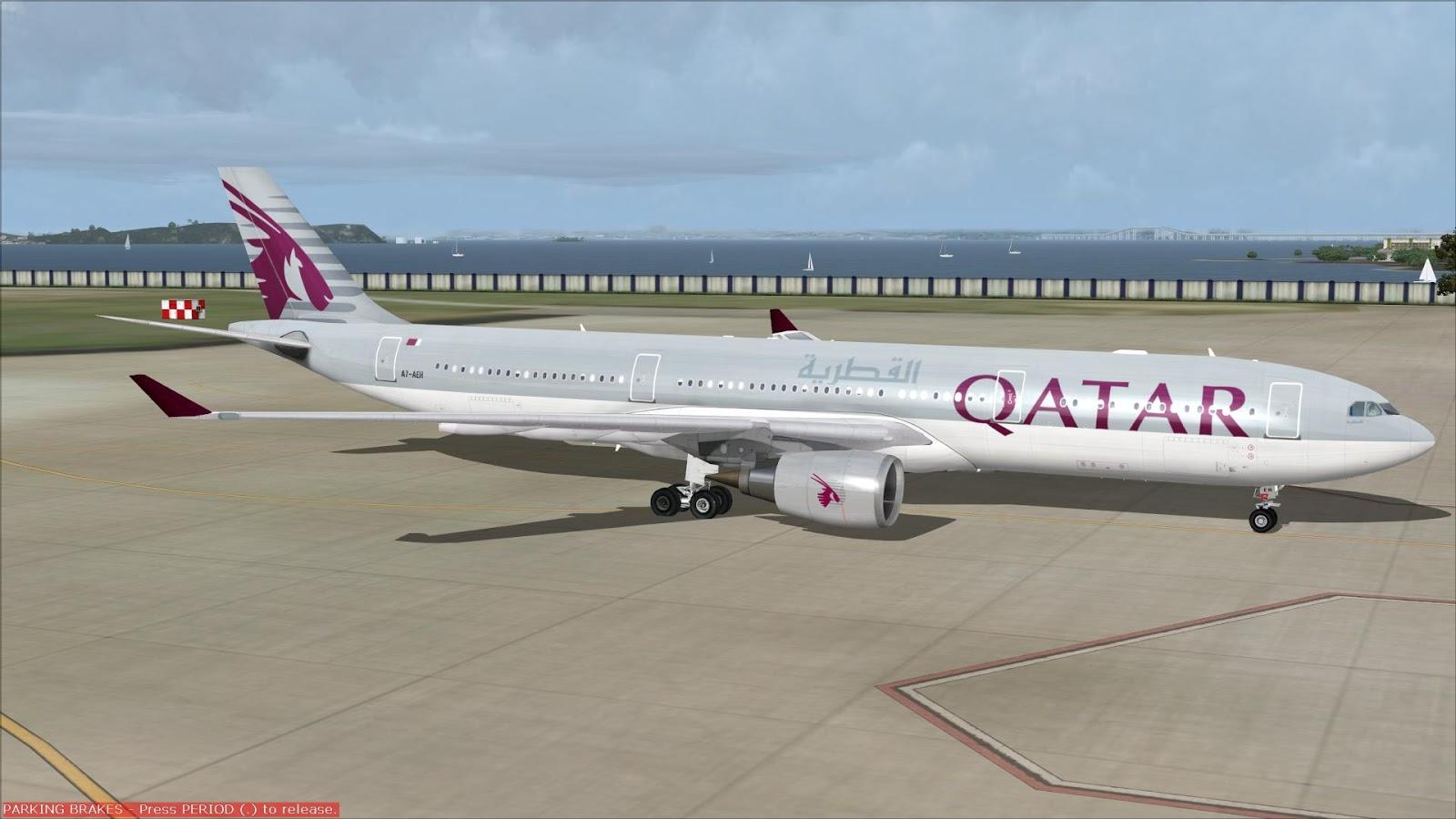 FSRepainter: CLS A330-300 QATAR Airways A7-AEH