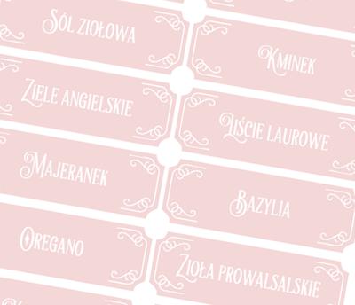 Etykietki na przyprawy do pobrania i wydruku