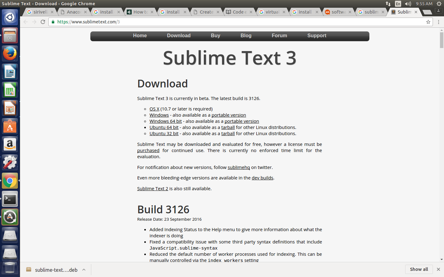sirivella madhu: How to install sublime text editor in Ubuntu with