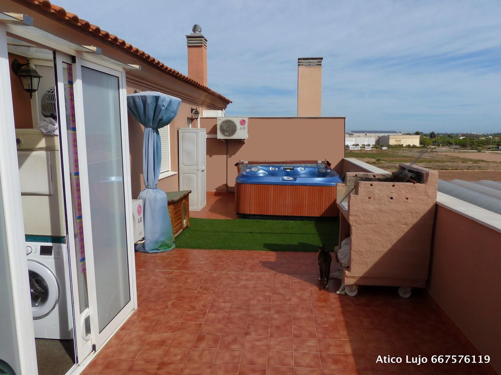 Jacuzzi exterior terraza bayahibe guesthouse terraza with for Casetas para terrazas segunda mano