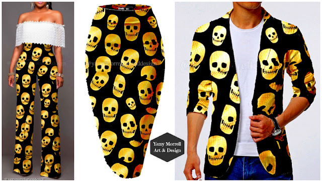 golden-skull-pattern-by-yamy-morrell