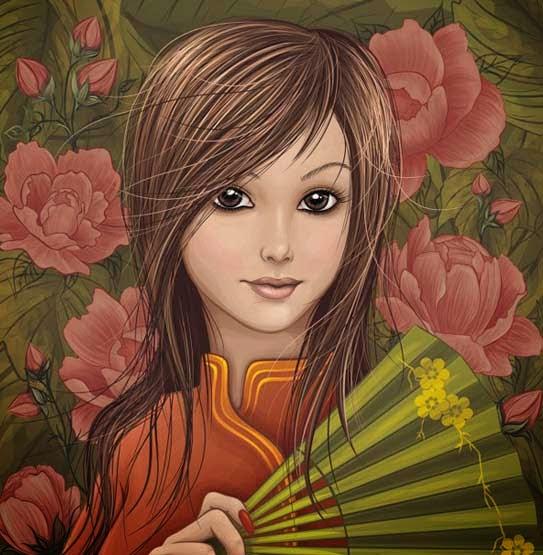 How to Create a Vector Girl using Adobe CS6 Illustrator