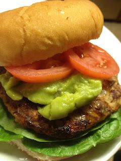 jalapeño turkey burger