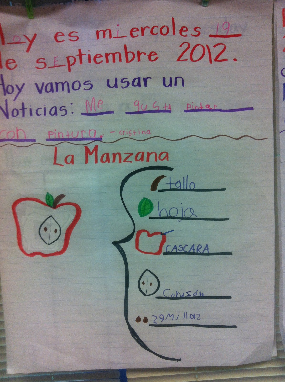 Kinder Dual Language Divas Apples And Pumpkins Everywhere