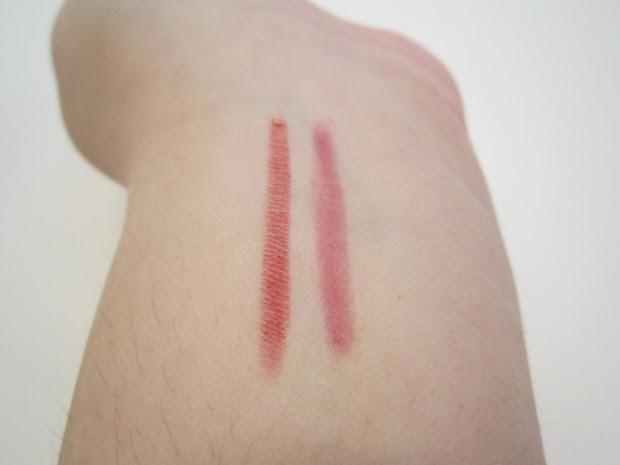 Clinique Lip Liner Swatches