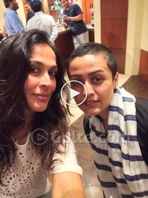 Namrata Shirodkar Spotted With Her New Look
