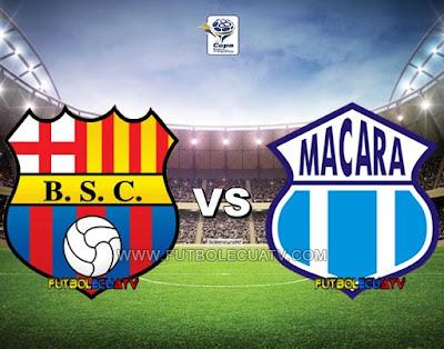 Barcelona SC vs Macará - Sábado 09 de Diciembre del 2017 - Partido Jornada 22