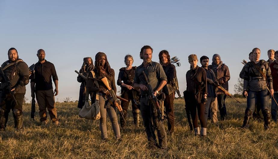 Rick, Michonne, Rosita, Carol, Daryl, Ezekiel y compañía, en la Season Finale de la temporada 8 de The Walking Dead