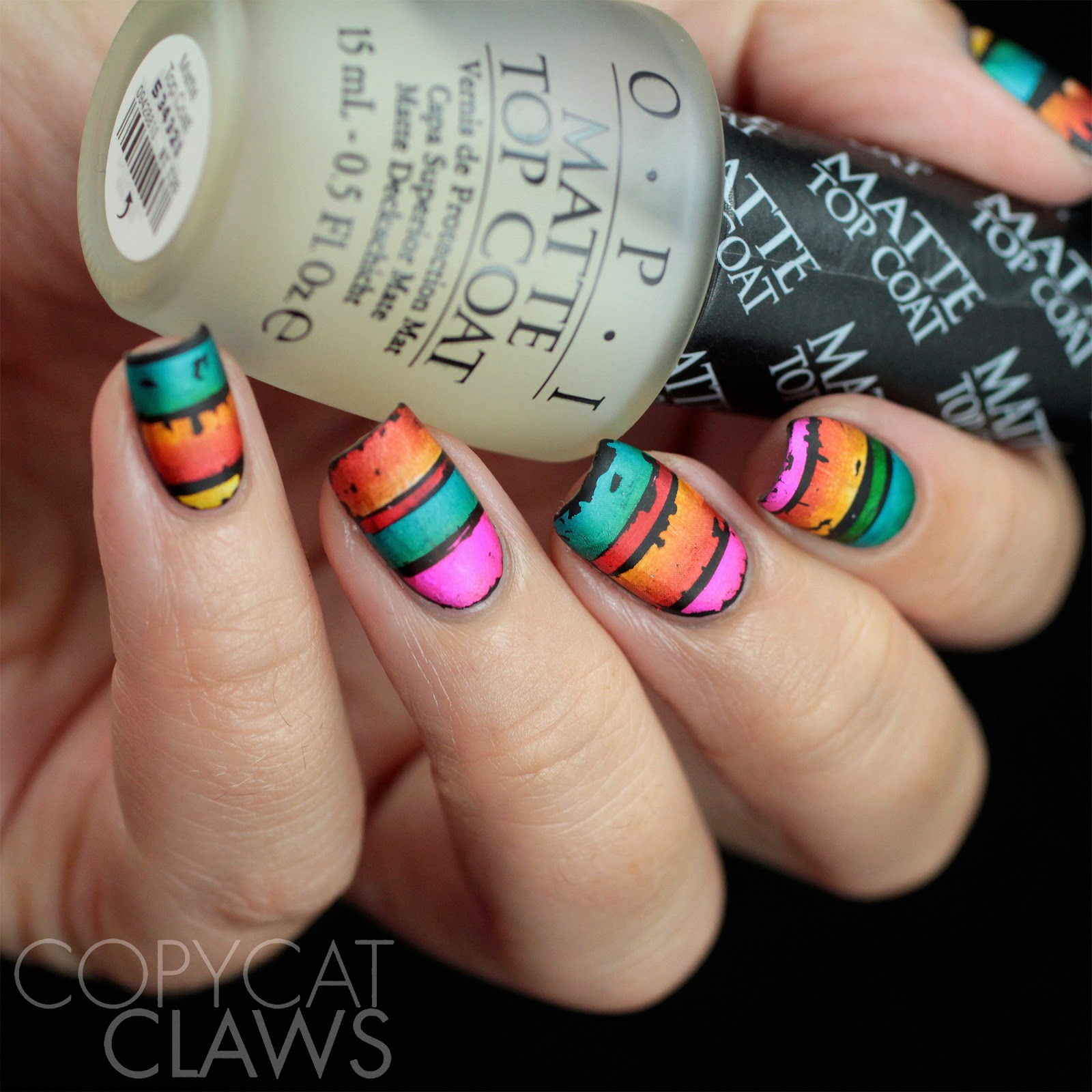 Copycat Claws: Nail Crazies Unite - Stripes