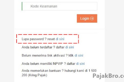 djponline2 pajak go id | Alternatif Jika DJP Online Error