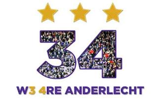 Anderlecht foi campeão na Bélgica
