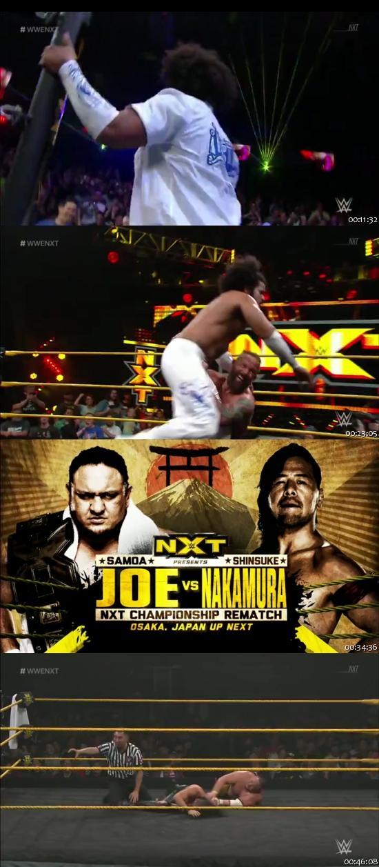 Screen Shot Of WWE NXT 7th December 2016 WebRip 480P 375MB