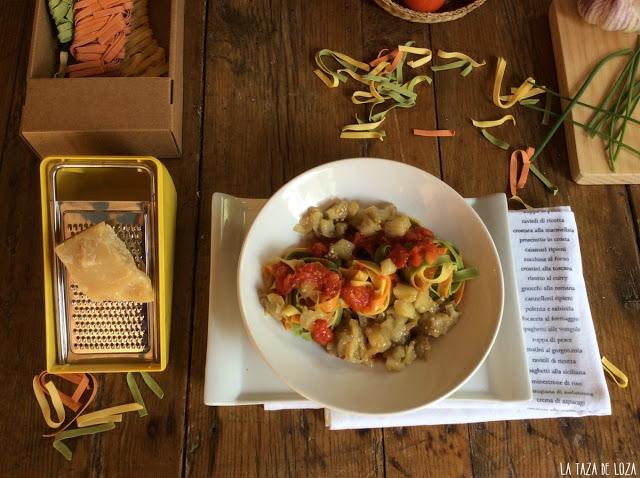pasta-larga-con-berenjenas-tomate