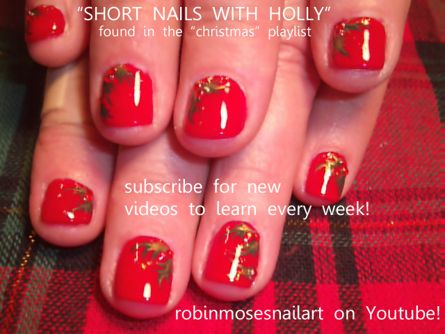 Nail Art Designs For Short Nails Tutorial Hession Hairdressing