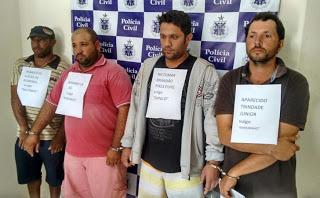 Marginais acusados de matar Guarda Municipal de Piritiba (BA) são presos no município de Mundo Novo