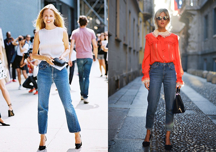 idee abbinamento jeans cropped