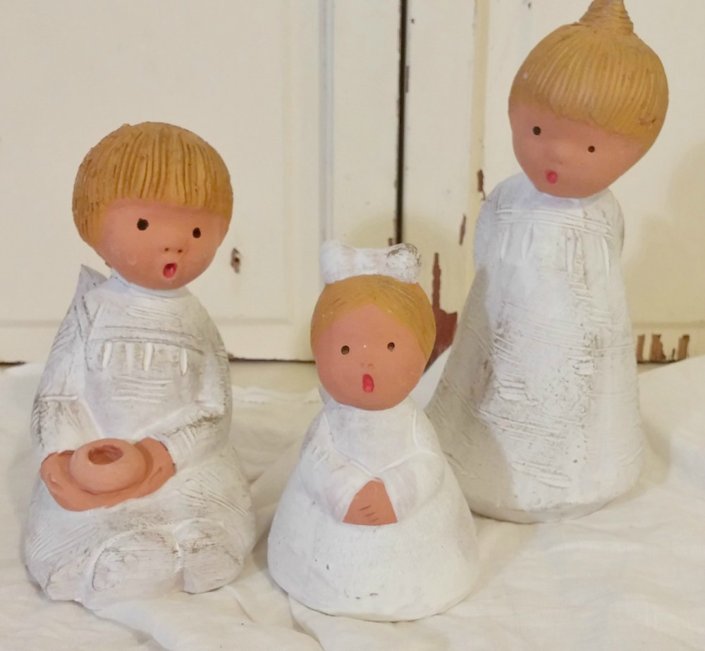 pottery angels