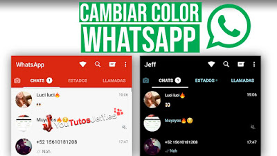 Como Cambiar Color de Whatsapp - Personalizar Whatsapp