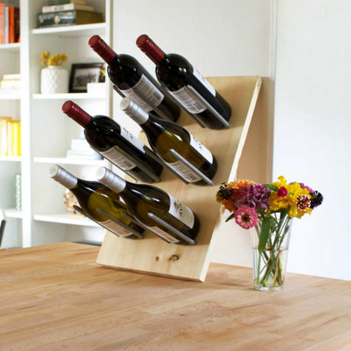 4 Botelleros handmade para los amantes del vino