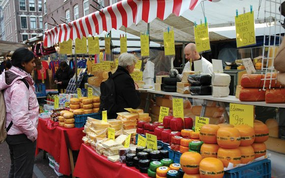 Shopping in Amsterdam's best markets