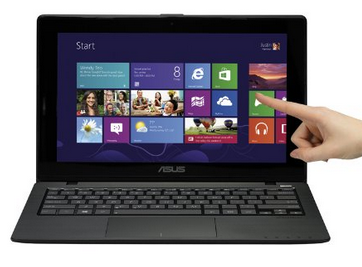 ASUS X200LA-DH31T 11.6-Inch Touchscreen i3 Laptop (Black)