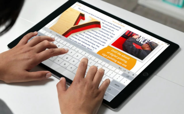 39838-640x398 The 10.5-inch iPad Pro will focus on education and the business market Technology