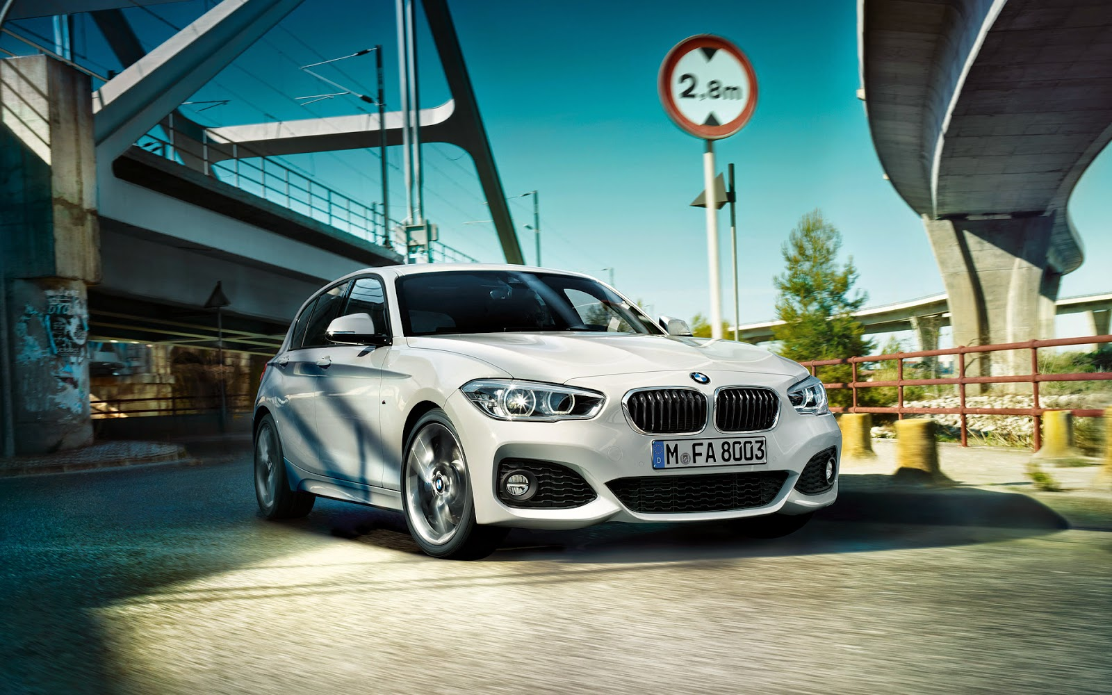 Bmw Life Bmw F20 1 Series Facelift Wallpapers