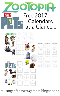 free yearly calendar printable
