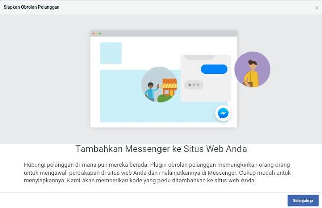Cara Memasang Live Chat Facebook Massenger di Blogger