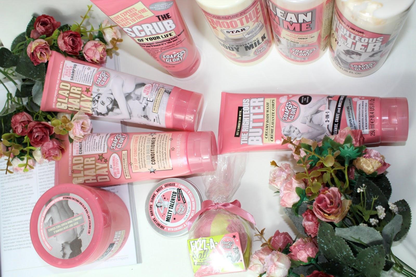 Soap & Glory Flatlay issybellefox