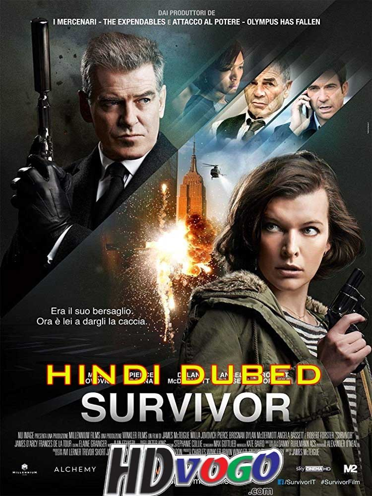 Survivor (2015) Hindi ORG Dual Audio 350MB BluRay 480p ESubs