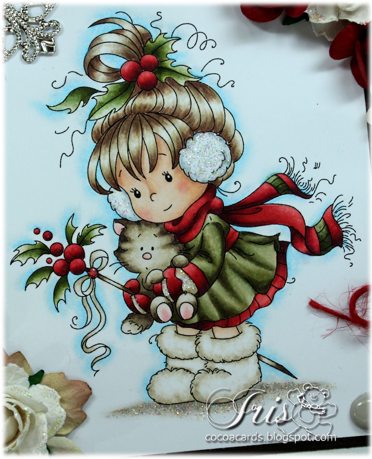 Paper Crafting In Cocoa Whimsy Stamps November Rubber