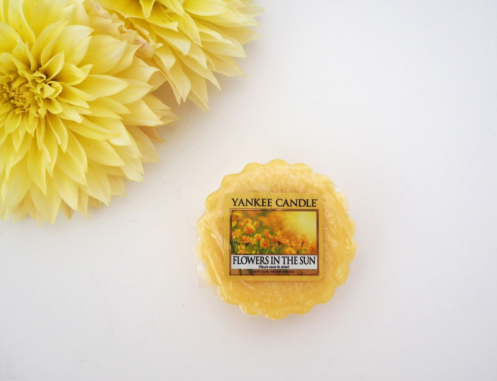 Yankee Candle Flowers in the Sun Fragrance Review, Wax Melt, Loves List: August | Katie Kirk Loves