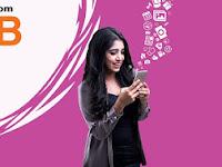 Banglalink 100MB internet data Tk. 26 for 7 days