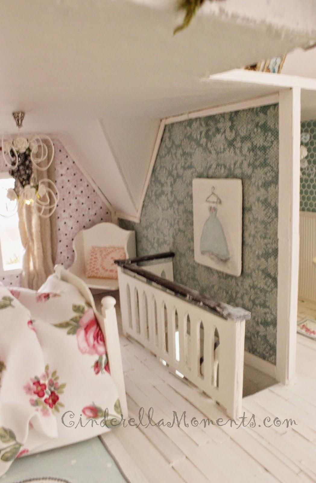 Cinderella Moments Wiltshire Cottage Dollhouse