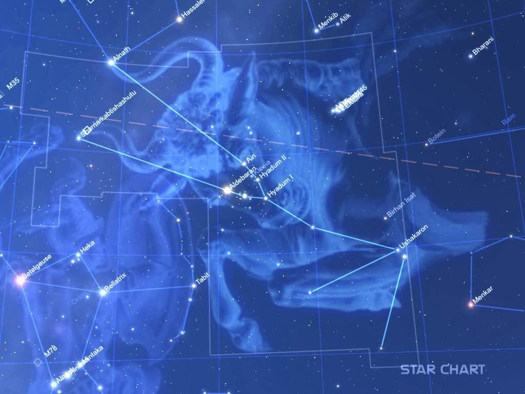 Amatőrcsillagász: Bika - Taurus