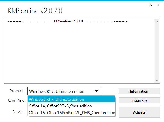 KMSonline 2 0 7 Portable by Ratiborus – Activation for Windows