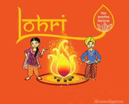 Happy Lohri wishes Wallpaper