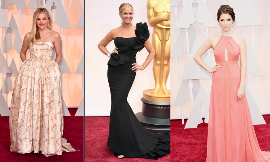 similar dresses to academy awards