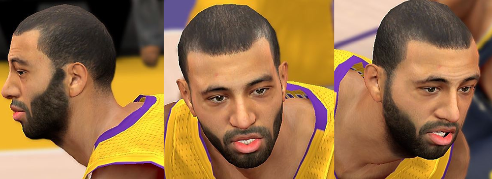 Lakers Kendall Marshall Beard Patch